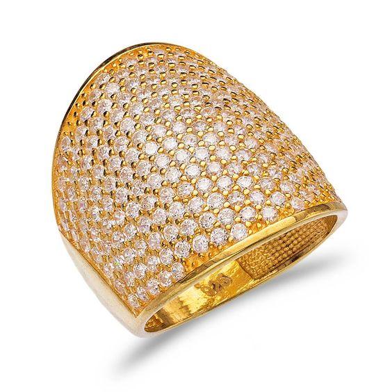 Largura: ( ) Pedra: Zircônia cúbica Chapeamento: Banhada a ouro // Prata 925