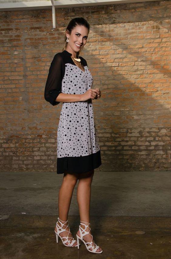 Vestido larguinho casual perfeito para um dia em familia tamanhos disponíveis do PP até o G3 www.lolapolan.com.br