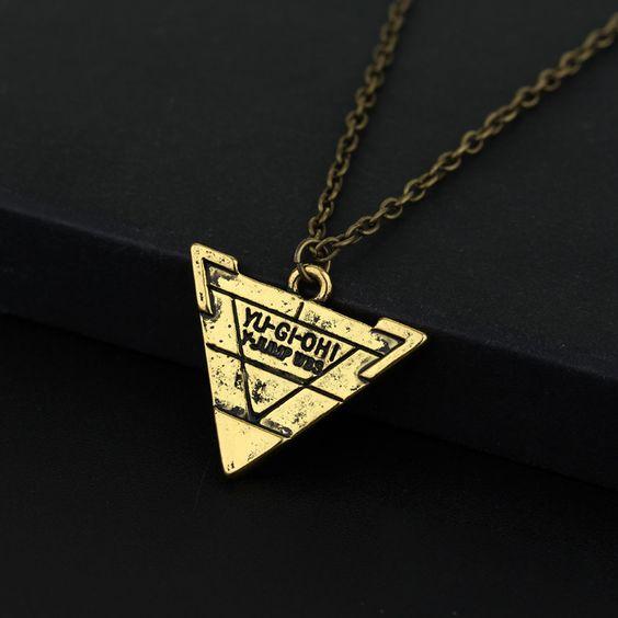 Yugioh Necklace - Triangle Pendant
