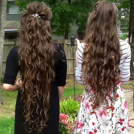 But if a woman have long hair, it is a glory to her: for her hair is given her for a covering. - Love their hair!