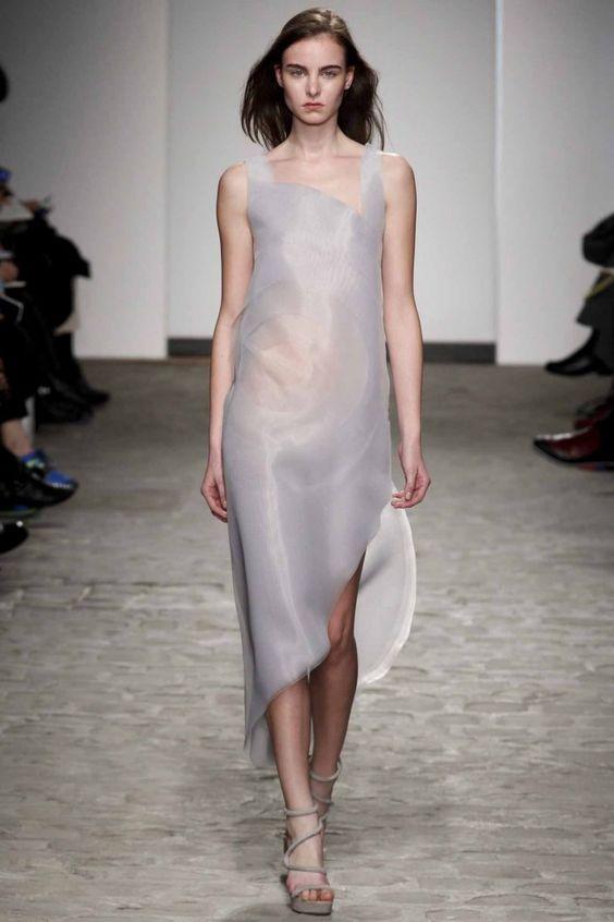 Vionnet haute couture spring 2014 good asymmetrical design