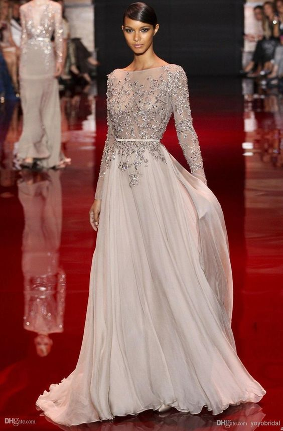 Pics For &gt- Designer Dresses Runway - It&-39-s All About The Dress ...