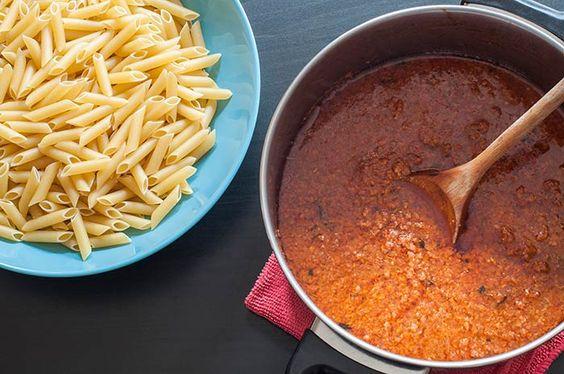 Receta fácil para hacer salsa boloñesa casera - Comedera.Com