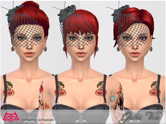 http://www.thesimsresource.com/downloads/details/category/sims4-accessories-female-earrings/title/gothic-veil-accessory/id/1284669/