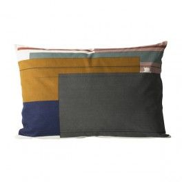 Ferm Living - Colour Block Cushions