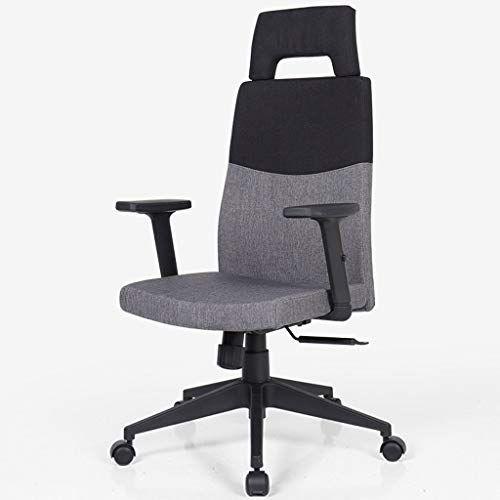 Ccf Cloth Boss Chair Esports Swivel Chair Fabric High Back Lift