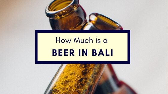How Much Does Beer Cost In Bali And The Best Beers In Bali In 2020 Best Beer Beer Alcohol Prices