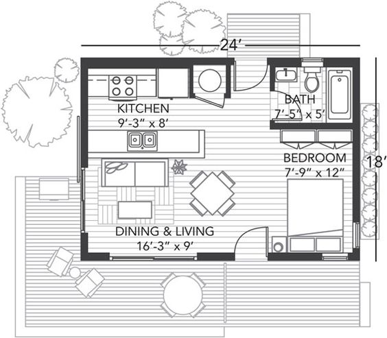 Bush house floor plan home design and style for Bush house designs