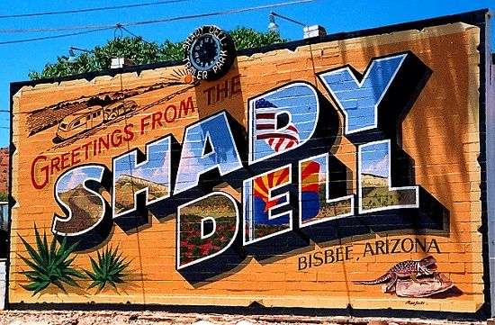 Bisbee Airstream Motel Shady Motel Great Way To Go
