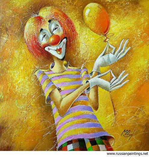 Macyk Yuri - 'Red Clown'