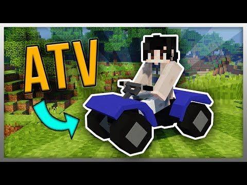 Working Atv In Minecraft Best Mod Ever Youtube Best Mods Minecraft Easy Tutorial