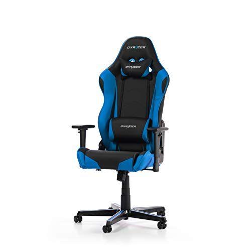 Dxracer L Original Racing R0 Chaise Gaming Similicuir Noir Bleu 165 195 Cm En 2020 Chaise Gaming Chaise Bleu