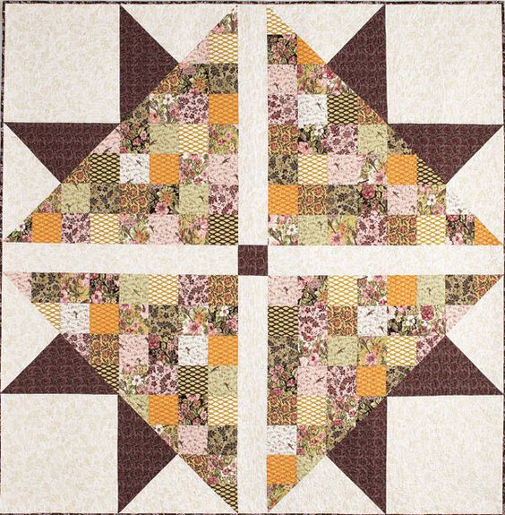Tutorial available find this quilt in quilting quickly fall 14