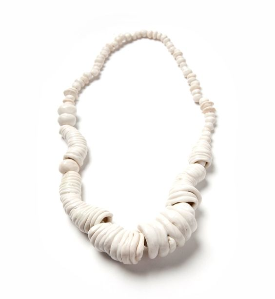 Mia Maljojoki Necklace: Exactly, 2015 Porcelain Photo by: Mia Maljojoki: