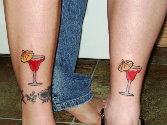 margaritas! A best friend of mine and I got done together!