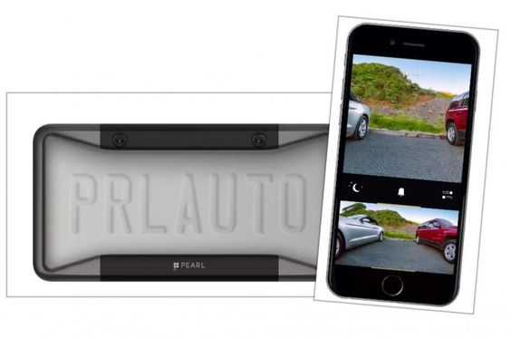 """Lee Pearl, una cámara trasera inteligente para coches, hecha por """"ex-apples"""""""
