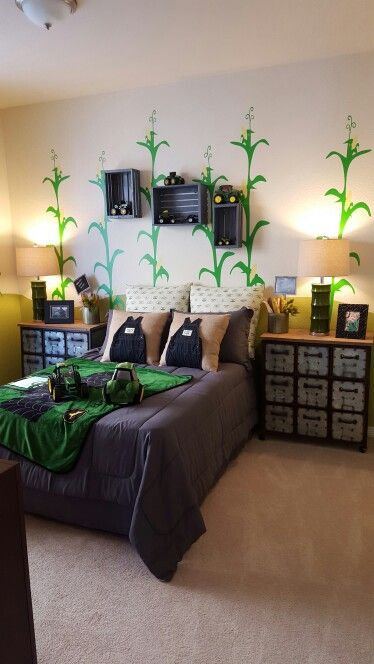 John Deere bedroom