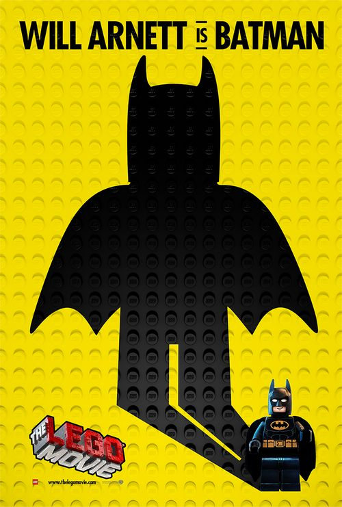 #TheLEGOMovie (2014) Batman Poster #film