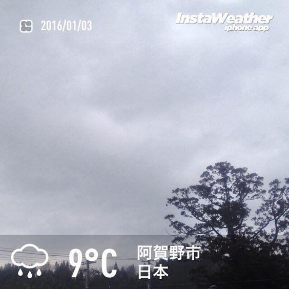 おはようございます! 正月なのに気温が10度近く…暖冬ですね〜