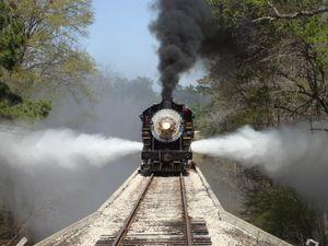 Texas State Railroad Rusk Texas