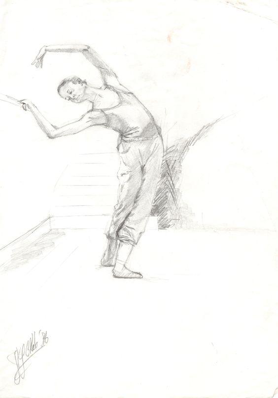 ballerina (1986) #arts #kunst #Corné #Corne #Akkers #藝術 #アート #искусство #فن  #seni #art #arts