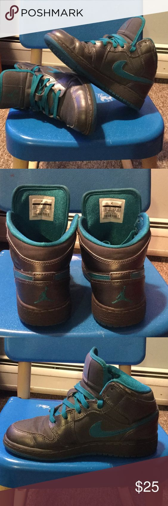 nike air jordan kids in a sandbox