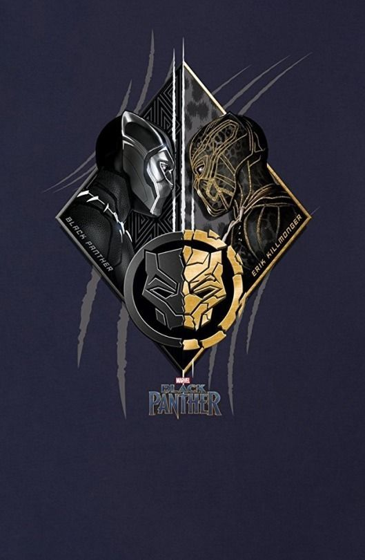 Black Panther T Challa Erik Killmonger Golden Jaguar Black Panther Marvel Black Panther Art Black Panther