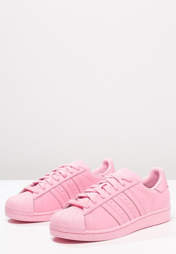 pink adidas superstar size 3