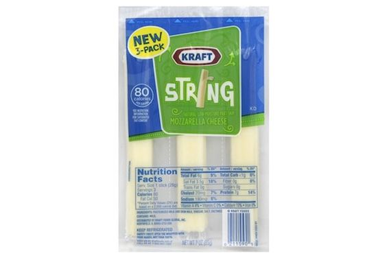 FREE Kraft Mozzarella String Cheese 3ct Packs At Walmart!
