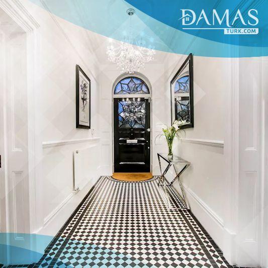 كيف تجعل مدخل شقتك أكثر جاذبية شركة داماس تورك العقارية Narrow Hallway Hallway Ideas Entrance Narrow Entryway Inspiration