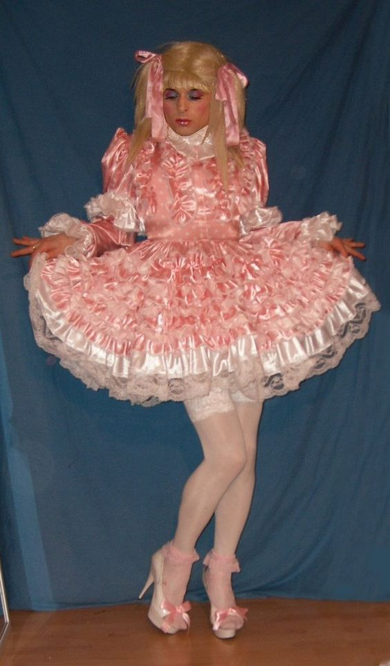 Former macho male turned into a docile submissive sissy. Is it a punishment or reward?