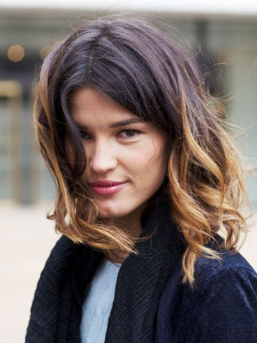 Ombre layered bobs and ombre short hair on pinterest - Long bob ombre ...