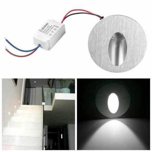 4x 1w Led Lampe Murale Spot Encastrable Coin Lampe Escalier Couloir Portique Ebay Tasarim Fikirler