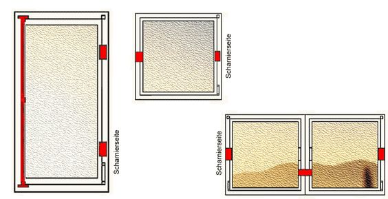 Mit der aufliegenden Beschlagsumrüstung nach DIN 18104-1 können die gefährdetsten Einstiegsstellen wie Fenster und Türen wirkungsvoll gesichert werden.