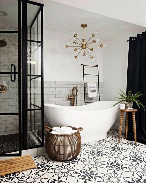 12++ Idee salle de bain baignoire trends