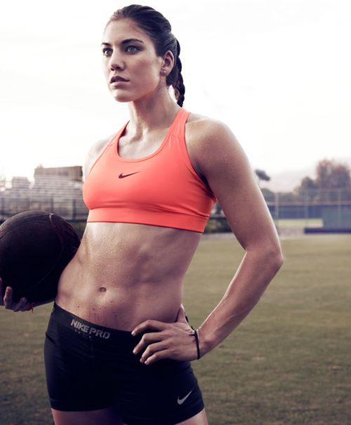 This is pretty much the goal - to be Hope Solo. Impossible, you may say? I can still try...