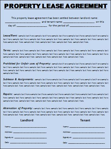 Free Lease & Rental Agreement Forms | EZ Landlord Forms - rental ...