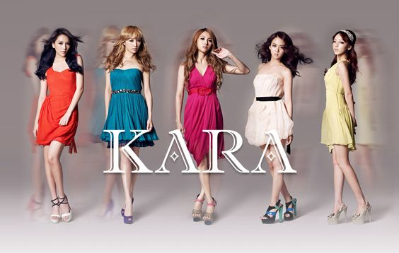 KARA's track list and jacket covers for Japanese album 'Girls Forever' released