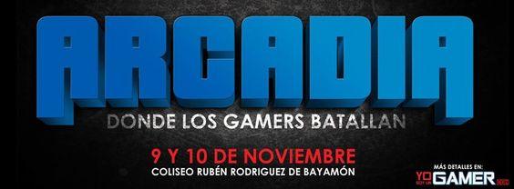 Arcadia @ Coliseo Rubén Rodríguez, Bayamón #sondeaquipr #arcadia #coliseorubenrodriguez #bayamon #videojuegos