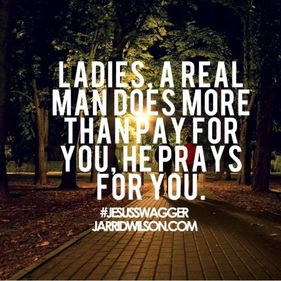 He does more than pay he PRAYS!!!