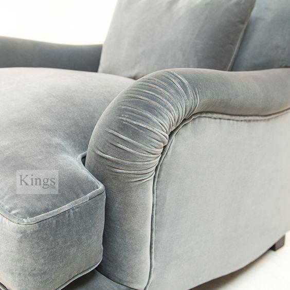 #Tetrad #Upholstery #Windermere sofa, very deep classic P arm chair http://www.kingsinteriors.co.uk/
