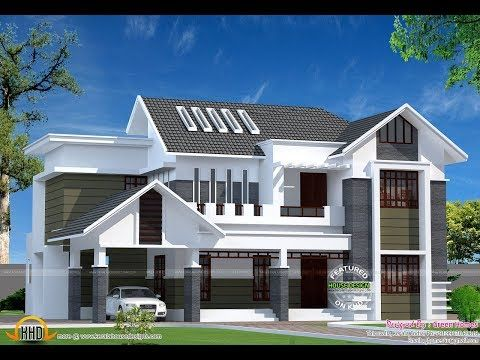 Best Home Designs 2019 Beautiful Budget Home Trends Contemporary Home Youtube Beautiful House Plans Kerala House Design Modern Style House Plans