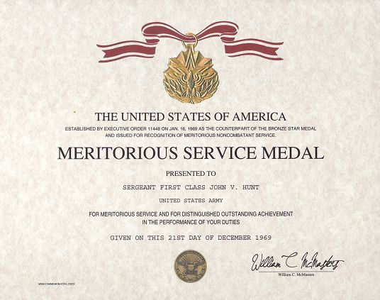 Certificate Of Achievement Army Form Fresh Meritorious Service Medal Certificate Certificate Of Achievement Certificate Templates Birth Certificate Template