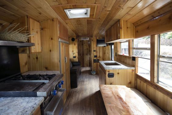 Back To Skoolie Converting A School Bus Into An Rv Or