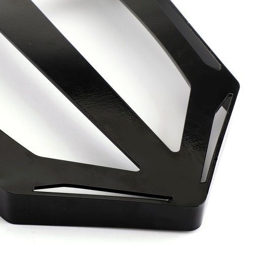 Black Luggage Rack For Victory Cross Country Road Sissy Bar