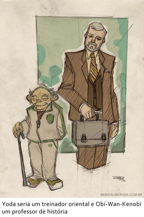 Se os personagens de Star Wars fossem pessoas comuns dos anos 80 4