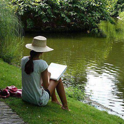 Au calme près de l'étang