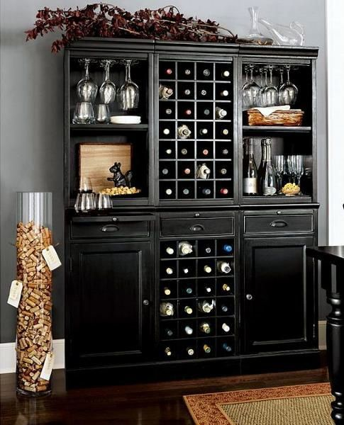 Luxe Bar Cabinets That Will Make You Crave A Martini Home Bar