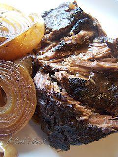 Balsamicand OnionPot Roast