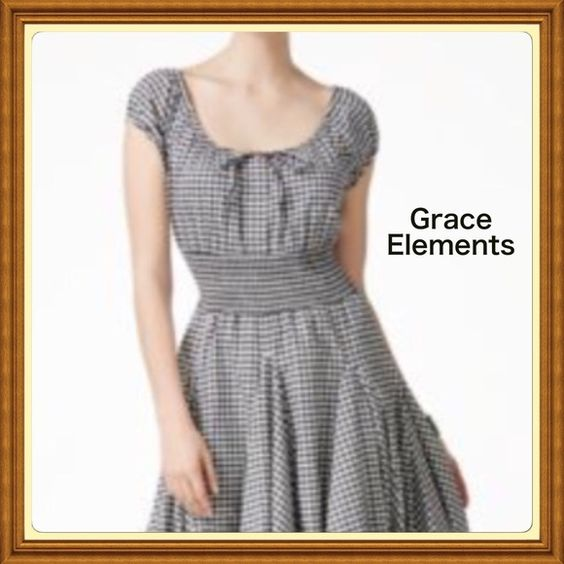 Grace Elements ❤️❤️ Absolutely darling dress with full skirt. (MACYS) Grace Elements Dresses Midi